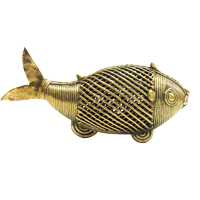 Dhokra Fish Décor – Small