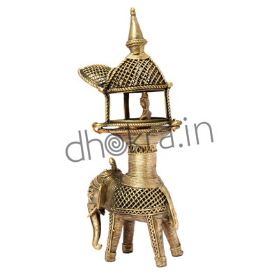 Dhokra Battle Elephant