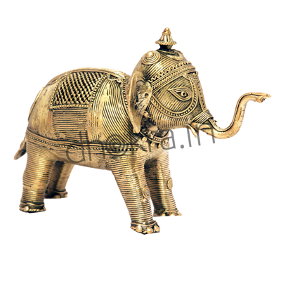 Dhokra Elephant Large