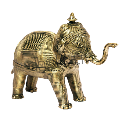 Dhokra Elephant Small